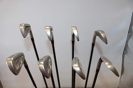 Ben Hogan Edge GCD Iron Set 3-PW Stock Graphite Shaft Graphite Stiff Right Handed 39.75in