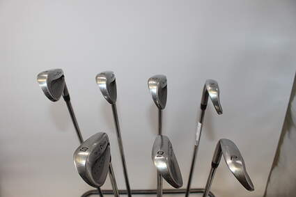TaylorMade Supersteel Iron Set 4-PW Stock Steel Shaft Steel Stiff Right Handed 38.0in