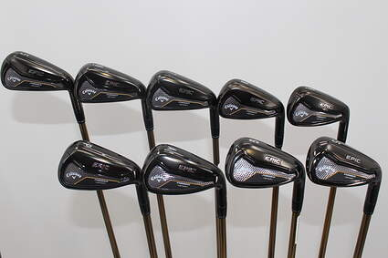 Callaway EPIC Forged Star Iron Set 5-SW UST ATTAS Speed Series 50 Graphite Regular Right Handed 38.5in