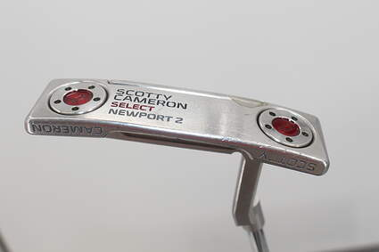 Titleist Scotty Cameron 2016 Select Newport 2 Putter Straight Arc Steel Right Handed 34.5in
