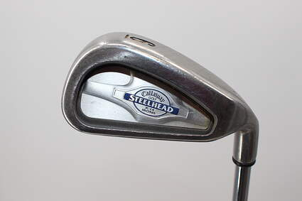 Callaway X-14 Single Iron 6 Iron Callaway Stock Steel Steel Regular Right Handed 37.5in