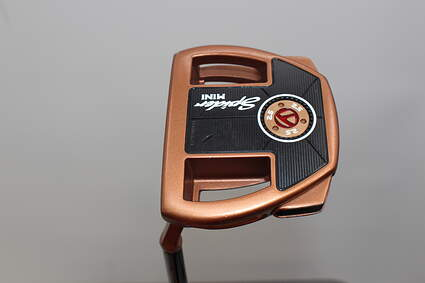TaylorMade Spider Mini Copper Putter Slight Arc Steel Left Handed 34.0in