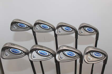 Ping i5 Iron Set 4-PW SW Ping TFC 100I Graphite Regular Right Handed Green Dot 38.0in