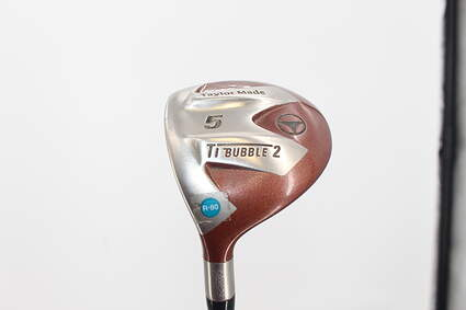 TaylorMade Ti Bubble 2 Fairway Wood 5 Wood 5W 18° TM Bubble 2 Graphite Regular Left Handed 43.0in