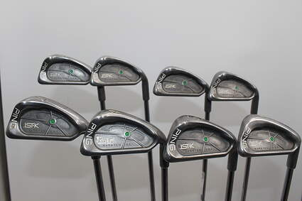 Ping ISI K Iron Set 3-PW Ping JZ Steel Stiff Right Handed Green Dot 38.0in