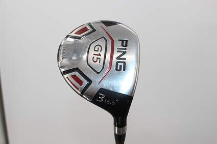 Ping G15 Fairway Wood 3 Wood 3W 15.5° Ping TFC 149F Graphite Regular Right Handed 42.0in