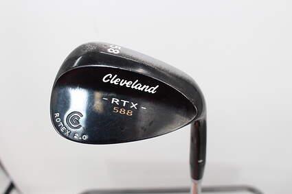 Cleveland 588 RTX Black Pearl Wedge Lob LW 58° 6 Deg Bounce True Temper Dynamic Gold X100 Steel X-Stiff Right Handed 34.75in