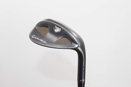 TaylorMade Rac Black TP Wedge Sand SW 56° Stock Steel Shaft Steel Wedge Flex Right Handed 35.5in