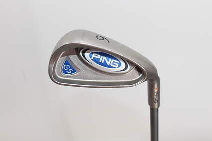 Ping G5 Single Iron 6 Iron Ping TFC 100I Graphite Regular Right Handed Orange Dot 37.5in