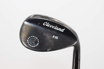 Cleveland CG15 Black Pearl Wedge Sand SW 54° 14 Deg Bounce KBS Tour 130 Graphite Stiff+ Right Handed 35.5in