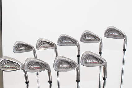 Tommy Armour 845S Polished 201 Iron Set 3-PW SW Stock Steel Shaft Steel Stiff Right Handed 38.0in