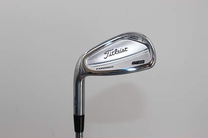 Titleist 716 CB Single Iron Pitching Wedge PW Dynamic Gold AMT S300 Steel Stiff Left Handed 35.75in