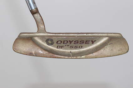 Odyssey Dual Force 550 Putter Strong Arc Steel Right Handed 33.75in