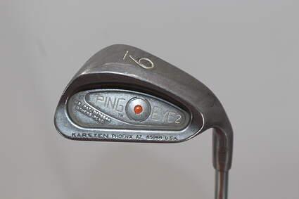 Ping Eye 2 Single Iron 9 Iron Stock Steel Shaft Steel Stiff Right Handed Orange Dot 35.25in