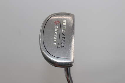 Odyssey White Steel 5 Putter Slight Arc Steel Right Handed 35.0in