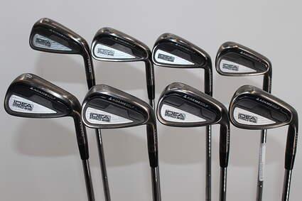 Adams Idea Pro A12 Iron Set 4-PW GW FST KBS Tour Steel Stiff Right Handed 38.75in
