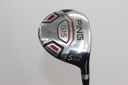 Ping G15 Draw Fairway Wood 5 Wood 5W 18.5° Ping TFC 149F Graphite Regular Right Handed 42.25in