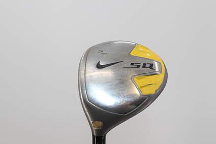 Nike Sasquatch Fairway Wood 5 Wood 5W 19° Stock Steel Shaft Graphite X-Stiff Left Handed 41.5in