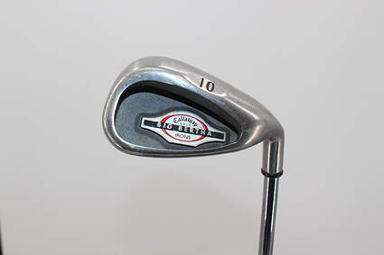 Callaway 2002 Big Bertha Single Iron Pitching Wedge PW Callaway Big Bertha Steel Steel Uniflex Right Handed 36.5in