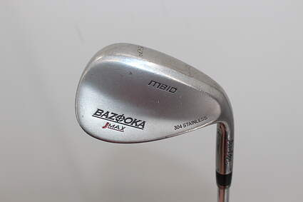 Tour Edge Bazooka Jmax Bounce Stainless Wedge Gap GW 50° Stock Steel Shaft Graphite Wedge Flex Right Handed 35.0in