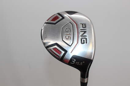 Ping G15 Draw Fairway Wood 3 Wood 3W 15.5° Aldila Serrano 75 Fairway Graphite Regular Right Handed 43.0in