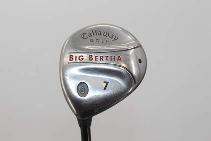 Callaway 2004 Big Bertha Fairway Wood 7 Wood 7W 21° Callaway Stock Graphite Graphite Light Left Handed 41.5in