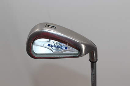 Callaway X-14 Single Iron 6 Iron Callaway Stock Graphite Graphite Regular Right Handed 37.5in