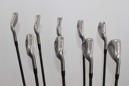 TaylorMade Burner Midsize Iron Set 2-PW Stock Graphite Shaft Graphite Stiff Right Handed 35.0in