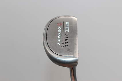 Odyssey White Steel 5 Putter Face Balanced Steel Right Handed 35.0in