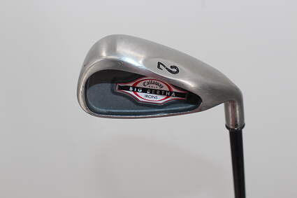 Callaway 2002 Big Bertha Single Iron 2 Iron Callaway RCH 75i Graphite Stiff Right Handed 39.5in