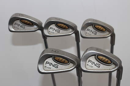 Ping i3 Blade Iron Set 6-PW Stock Steel Shaft Steel Stiff Right Handed 38.5in
