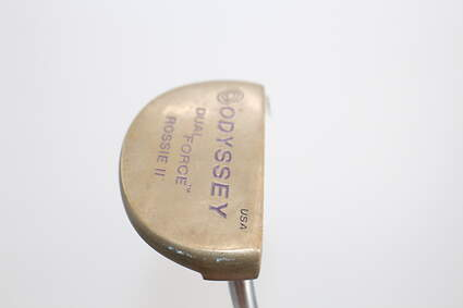 Odyssey Dual Force Rossie 2 Deepface Putter Face Balanced Steel Right Handed 33.75in