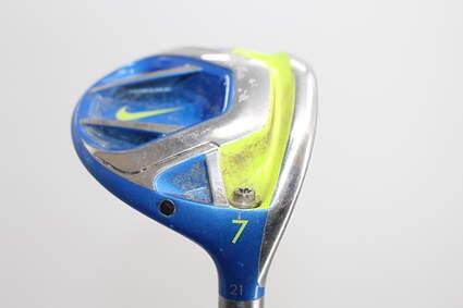 Nike Vapor Fly Fairway Wood 7 Wood 7W 21° Mitsubishi Diamana S+ Blue 70 Graphite Stiff Right Handed 41.0in