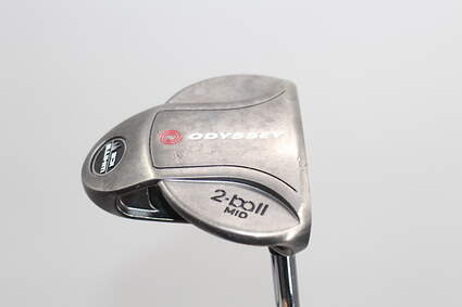 Odyssey White Ice 2-Ball Mid Putter Steel Right Handed 32.25in