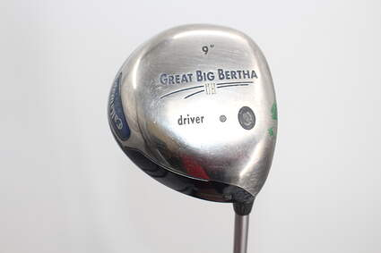 Callaway Great Big Bertha II Driver 9° Callaway Stock Graphite Graphite Firm Right Handed 44.75in