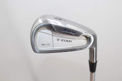 Mizuno T-Zoid Pro Forged Single Iron 6 Iron True Temper XP 95 S300 Steel Stiff Right Handed 37.5in