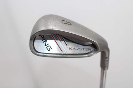 Ping 2014 Karsten Single Iron 8 Iron Ping CFS Distance Steel Stiff Right Handed 36.75in