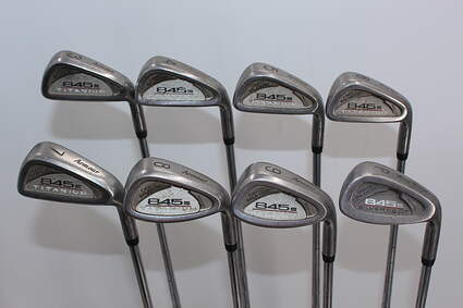 Tommy Armour 845S Titanium Face Iron Set 3-PW Stock Steel Shaft Steel Stiff Right Handed 38.0in