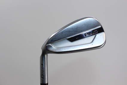 Ping G700 Single Iron 6 Iron AWT 2.0 Steel Stiff Left Handed Black Dot 38.0in