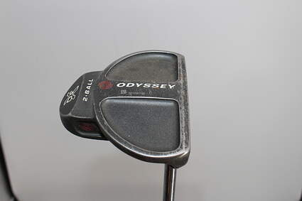 Odyssey DFX 2-Ball Center Shaft Putter Face Balanced Steel Right Handed 34.0in