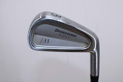 Bridgestone J33 Forged Cavity Back Single Iron 3 Iron Stock Steel Shaft Steel Stiff Right Handed 39.0in