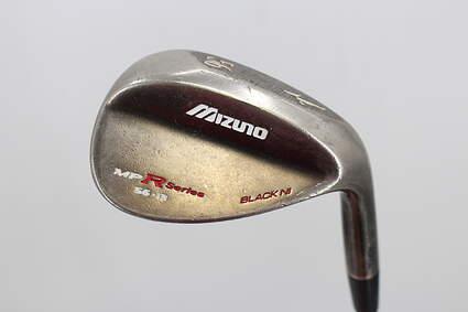 Mizuno MP-T4 Black Nickel Wedge Sand SW 56° 13 Deg Bounce True Temper Dynamic Gold Steel Wedge Flex Right Handed 35.5in