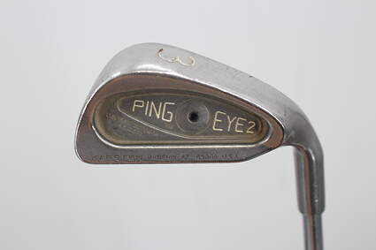 Ping Eye 2 Single Iron 3 Iron Stock Steel Shaft Steel Stiff Right Handed Black Dot 39.0in