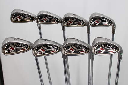 Ping G15 Iron Set 3-PW Ping AWT Steel Regular Right Handed Green Dot 38.0in