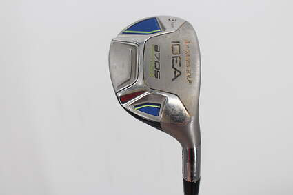 Adams Idea A7 OS Max Single Iron 3 Iron Adams Grafalloy ProLaunch Blue Graphite Regular Right Handed 40.0in