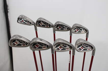 Ping G15 Iron Set 5-LW Ping TFC 419i Graphite Regular Right Handed Black Dot 38.25in