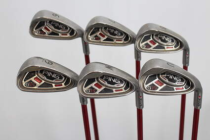 Ping G15 Iron Set 6-GW Ping TFC 149I Graphite Regular Right Handed Red dot 37.0in