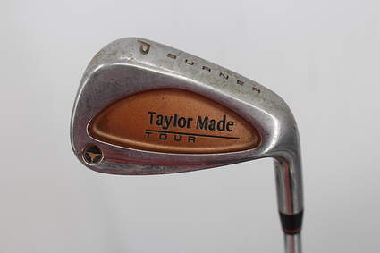 TaylorMade Burner Tour Single Iron Pitching Wedge PW TM S-90 Steel Wedge Flex Right Handed 35.0in