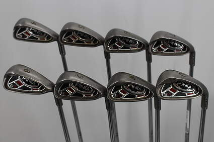 Ping G15 Iron Set 4-GW Ping AWT Steel Stiff Right Handed Blue Dot 38.0in
