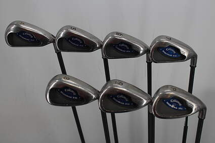 Callaway X-16 Iron Set 4-PW Callaway System CW75 Graphite Regular Right Handed 38.75in